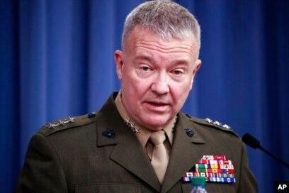 Panglima Komando Pusat Amerika CENTCOM Jenderal Kenneth McKenzie Jr.
