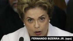 지우마 호세프 브라질 대통령. (자료사진)