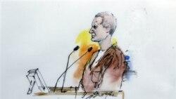 تصویر نقاشی شده از جارد لافنر در دادگاه - آرشیو