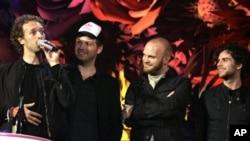 영국의 4인조 록 밴드 콜드플레이(Coldplay)