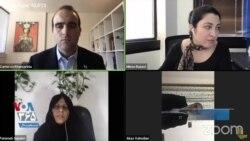 فاطمه سپهری: جمهوری اسلامی غیرقانونی است و تا کنار نرود، ما روز خوش نخواهیم داشت