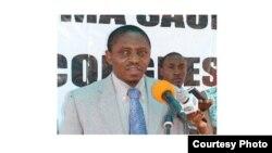 Kamalata Numa, candidato à liderança da UNITA. Angola