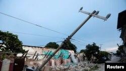 زلزلے سے کئی عمارتیں زمیں بوس ہو گئیں