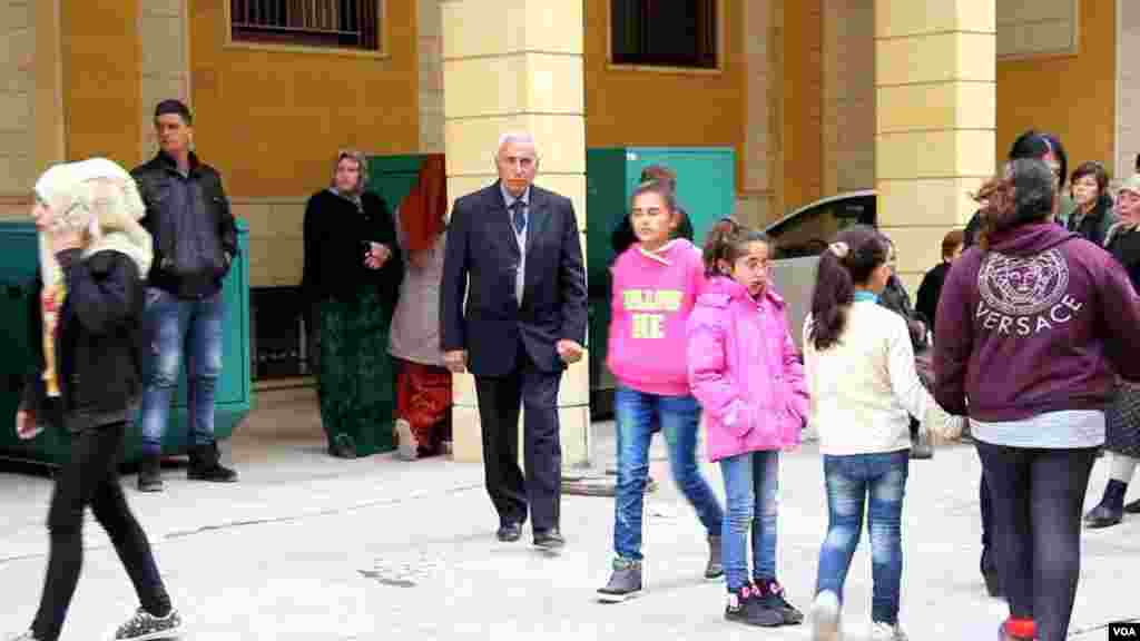 Christian refugees in Syria