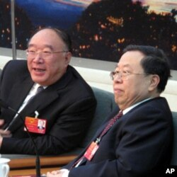 重慶市長黃奇帆(左)(資料照片)