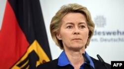 Le ministre allemande de la Défense, Ursula Von Der Leyen à Berlin, 26 juillet 2017.