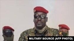 Kiongozi wa mapinduzi ya Guinea Kanali Doumbouya,