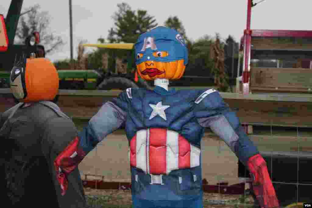 El tradicional Capitán América no se podía perder las celebraciones por Halloween 2013.