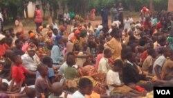 Wakimbizi kutoka Burundi wakisubiri nchini Rwanda wakihofia ghasia kabla ya uchaguzi.