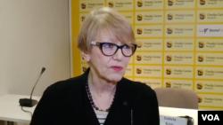 Sonja Biserko, predsednica Helsinškog odbora za ljudska prava u Srbiji