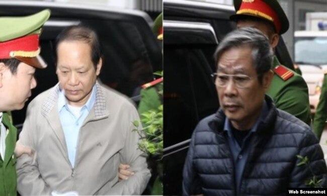 Nhiều quan chức cao cấp Việt Nam bị bỏ tù hoặc kỷ luật vì tham nhũng trong thời gian gần đây