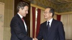 وزیر خزانه داری آمریکا در باره تحریم واردات نفت ایران با مقامات چین و ژاپن مذاکره می کند