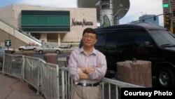《广西文革机密档案资料》主编宋永毅 (照片由宋永毅提供)