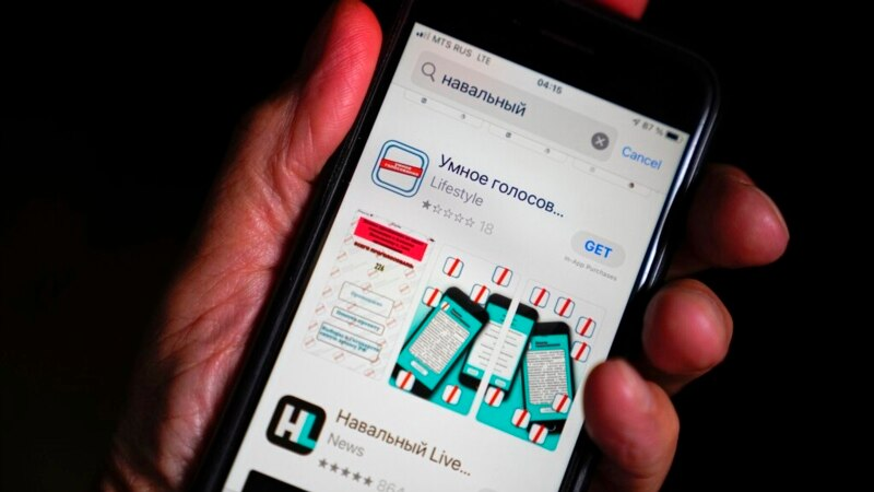 Navalny App Gone from Google, Apple Stores on Russia Vote Day ...