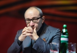 FILE - Mayor of Kharkiv Gennady Kernes