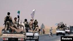 ارتش آزاد سوریه در مسیر رقه، مرکز خلافت داعش