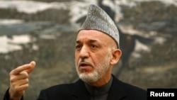 افغان صدر حامد کرزئی