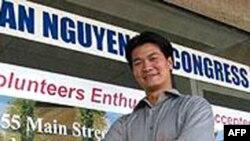 Ông Tân Nguyễn, một ứng viên thuộc phe Cộng hòa đã chạy đua với đương kim dân biểu thuộc phe Dân chủ, bà Loretta Sanchez, cách đây 5 năm