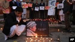 مراسم یادبود از دکتر ناکامورا در کابل