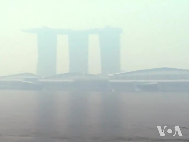 Singapore PM: Haze from Indonesia Could Blanket City for Weeks