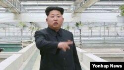 Nhà lãnh đạo Bắc Triều Tiên Kim Jong Un.