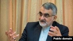 علاء الدین بروجردی رئیس کمیسیون امنیت ملی و سیاست خارجی مجلس