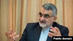 علاء الدین بروجردی رئیس کمیسیون امنیت ملی و سیاست خارجی مجلس شورای اسلامی