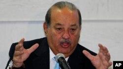 Ông Carlos Slim, đứng đầu danh sách người giàu nhất thế giới của Bloomberg
