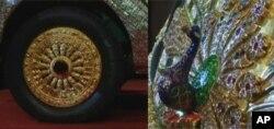 در ساخت این موتر هشتاد کیلوگرام طلا به کار رفته است.