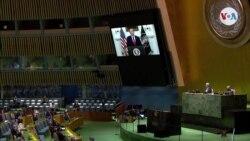 Trump responsabiliza a China por la pandemia, en su discurso ante la ONU