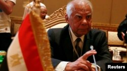 하젬 엘베블라위 이집트 임시 총리 (자료사진)