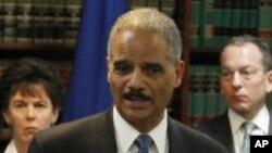 Sekretar za pravosudje Erik Holder
