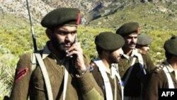 Binh sĩ Pakistan tại khu vực bộ tộc Kurram gần biên giới Afghanistan