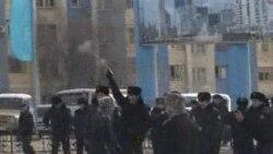 تظاهرات مرگبار بيسابقه در ناحيه نفت خيز قزاقستان