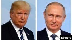 Президенти Трамп і Путін