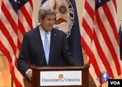 美國國務卿約翰克里二月份在維吉尼亞大學發表外交政策講話﹐直指非洲蘊含巨大商 機。