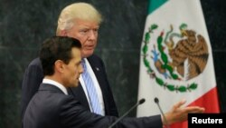Predsednici Meksika i SAD, Enrike Penja Nijeto i Donald Tramp (arhivski snimakl)