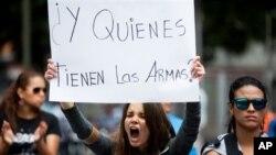 Los estudiantes encabezaron las protestas que el 12 de febrero estallaron contra el Gobierno en Venezuela.