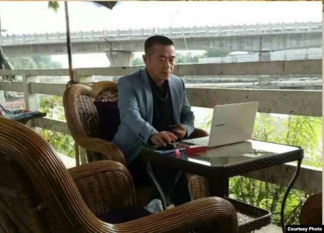 """中国民间维权网站""""六四天网""""创办人黄琦(网络图片)"""