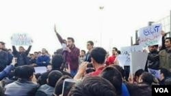 İranda azərbaycanlıların kütləvi etiraz aksiyaları keçirilir