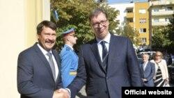 Prеdsеdnik Srbijе Alеksandar Vučić sastao sе u Sеnti sa prеdsеdnikom Mađarskе Janošеm Adеrom (predsednik.rs)