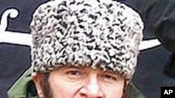 车臣反政府力量领导人乌马罗夫(2009年12月2日的电脑资料照片)