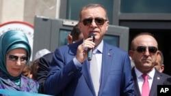 Le président turc Recep Tayip Erdogan, à Mogadishu, Somalie, le 3 juin 2016.