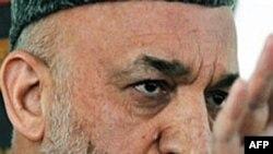 Президент Афганистана Хамид Карзай. Кабул. 1 апреля 2010 года