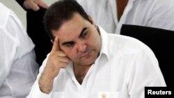 El expresidente salvadoreño Tony Saca fue detenido por presunta corrupción.
