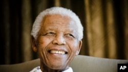 Former South African President Nelson Mandela is honored by a new Centre of Memory in Johannesburg.