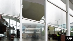 "Šteta na zgradi aerodroma ""Lambert-Sent Louis"" u Mizuriju"