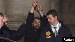 """資料圖片-達馬克,又名""""黑旗"""",2010年3月在愛爾蘭沃特福德因恐怖主義指控被捕"""