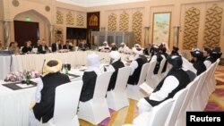 قطر کې د امریکايي او طالب استازو ترمنځ پنځم دور مذاکرات