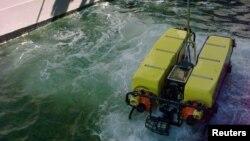 Drone laut milik Amerika saat diuji coba di Newport, 4 November 2016 (Foto: dok).